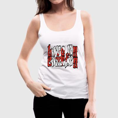 LOVE my Country (Canada) - Vrouwen Premium tank top