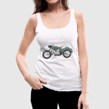 motorcycle - Women's Premium Tank Top