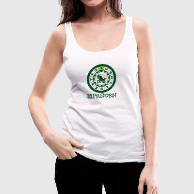 Star sign Capricorn / Zodiac Capricorn - Women's Premium Tank Top