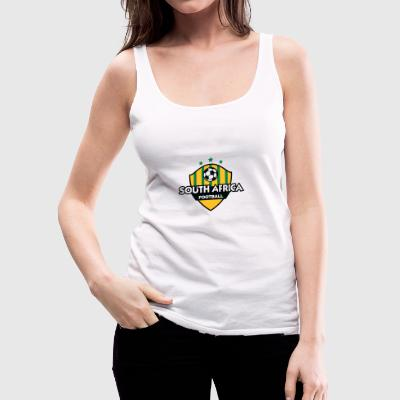 Football Emblem Of South Africa - Women's Premium Tank Top
