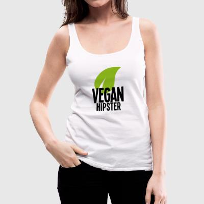 Vegan Hipster - Women's Premium Tank Top