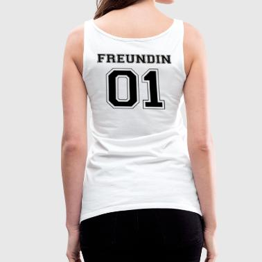 Girlfriend - Black Edition - Women's Premium Tank Top
