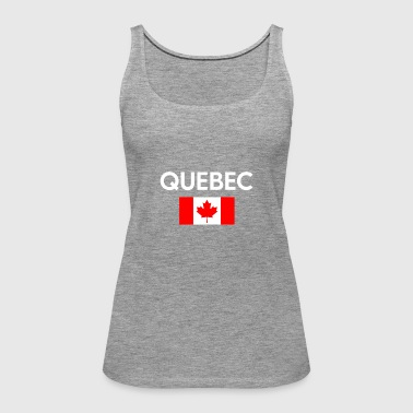 Quebec Canada Flag Proud Eastern Canadian Province - Women's Premium Tank Top