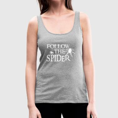 Spider - Spiders - Spider Owner - Funny - Women's Premium Tank Top