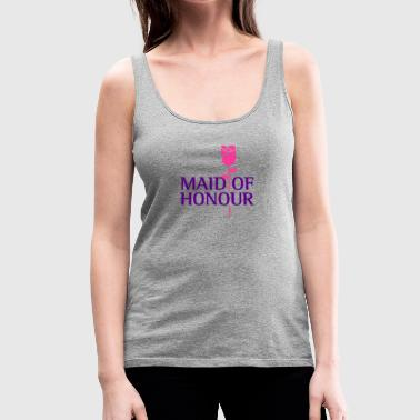 Maid Of Honor The Maid Of Honor - Women's Premium Tank Top