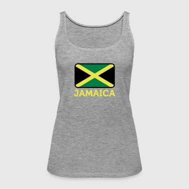 National Flag Of Jamaica - Women's Premium Tank Top