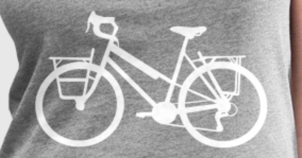 Fahrrad Hollandrad Drahtesel Rad Fahren Korb von Dein Shirt ...