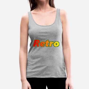 Retro Retro - Frauen Premium Tank Top