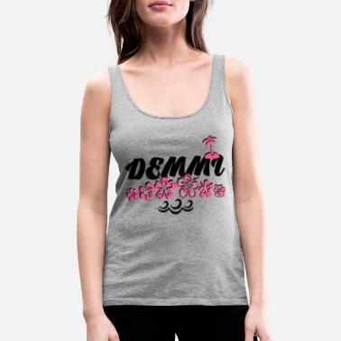 Camisetas En Hibiscus Línea De TirantesSpreadshirt Pedir 4ARjLSc35q