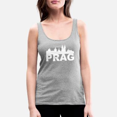 Journey Prague Prague Czech Republic Skyline Capital Gift - Women's Premium Tank Top