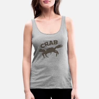 Crab - Oceanic love - unicolor - Vrouwen premium tank top
