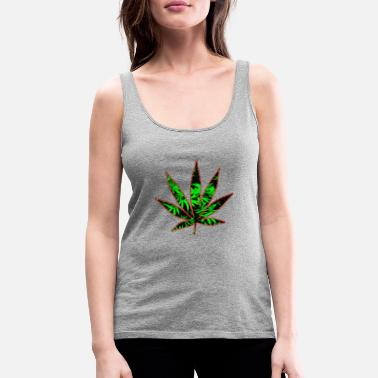 CannaRed - Women's Premium Tank Top
