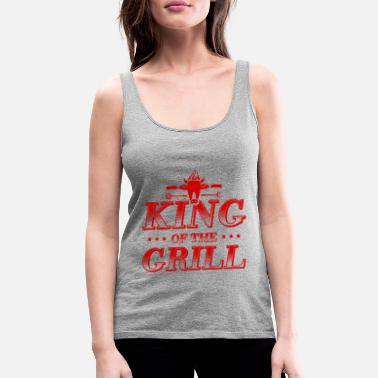 Grill Grill King King Grill Master - Women's Premium Tank Top