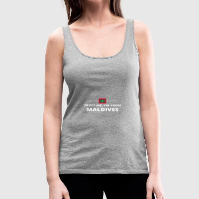 trust me from proud gift MALDIVES - Women's Premium Tank Top