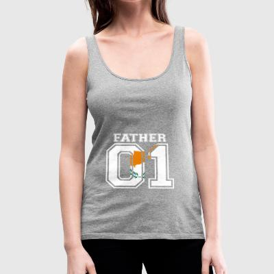 Father father papa 01 queen Cyprus - Women's Premium Tank Top