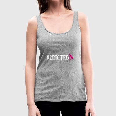 Pole Dance Addicted PoleDance Addict Geschenk - Frauen Premium Tank Top
