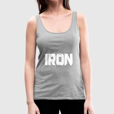 iron shirt - Women's Premium Tank Top
