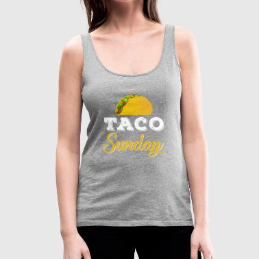Taco Sunday - Women's Premium Tank Top