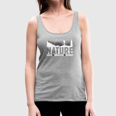 Nature Hike Health Home - Frauen Premium Tank Top