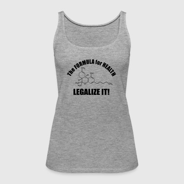 The Formular for Health - Vrouwen Premium tank top