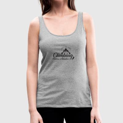 CLIMBING - WILD AND FREE - Women's Premium Tank Top