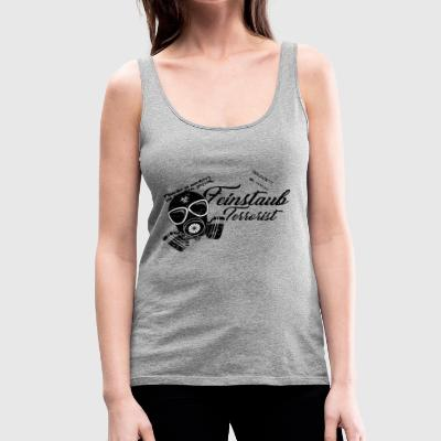 Particulate matter of the green enemy of the tuner friend - Women's Premium Tank Top