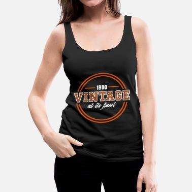 Rockabilly Vintage At Its Finest - Women's Premium Tank Top
