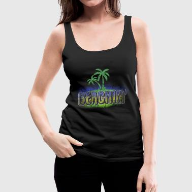 Beach Volleyball Summer beach sea gift idea - Women's Premium Tank Top