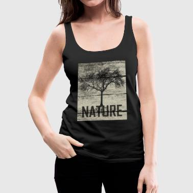Nature Tree Wood - Vrouwen Premium tank top