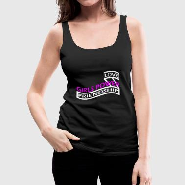 Girls Power - Vrouwen Premium tank top