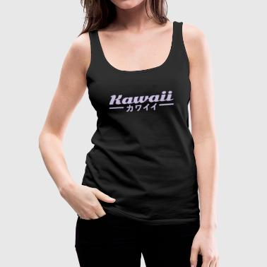 kawaii - Tank top damski Premium