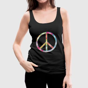 Peace / peace - Women's Premium Tank Top