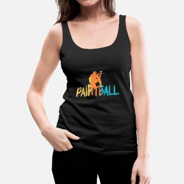 Paintball Paintball - Women's Premium Tank Top