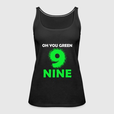 Green Nine - Women's Premium Tank Top