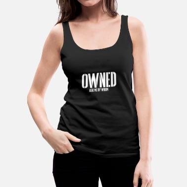 Bdsm OWNED BDSM SLAVE Sub Devotion Bondage - Women's Premium Tank Top