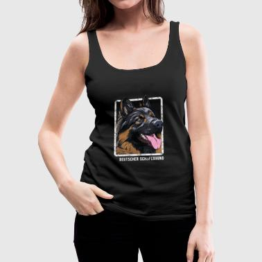 Dogs - German Shepherd - Women's Premium Tank Top