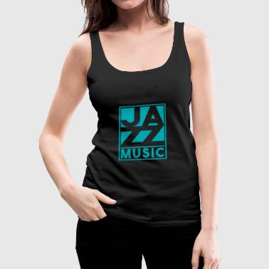 Jazz music Christmas gift birthday - Women's Premium Tank Top