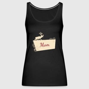91f4211dc6 Mamma renna di Natale, pigiama coordinato per famiglie di Shirtonaut ...