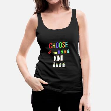 Language ASL Sign Language Sign Language - Women's Premium Tank Top