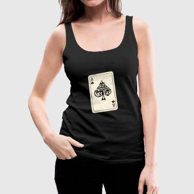 Ace Of Spades Death Twitches My Ear Ace of Spades Speelkaart - Vrouwen Premium tank top