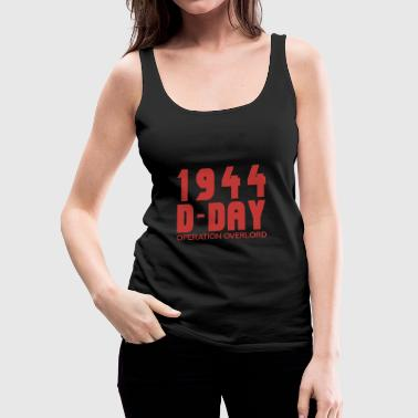 Day D-Day - Vrouwen Premium tank top
