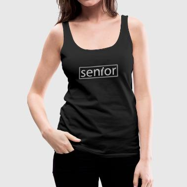 senior - Premium singlet for kvinner