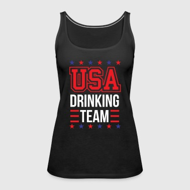 Bachelor Party USA Drinking Team Beer Party Wear Gift - Premiumtanktopp dam
