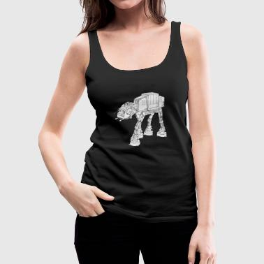 Star War AT-AT - Frauen Premium Tank Top