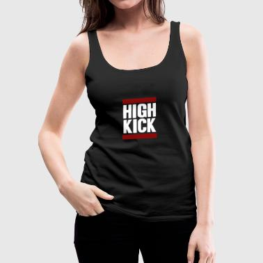high kick - Women's Premium Tank Top