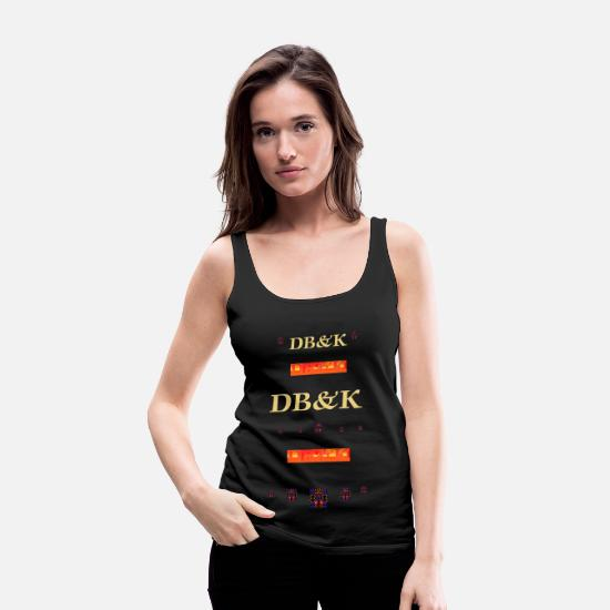 Dolla Baby & Kteis Tank Tops - DOLLA BABY & KTEIS CLASSICASUAL - Women's Premium Tank Top black