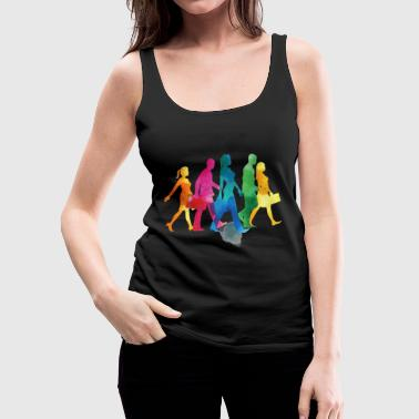 People - Women's Premium Tank Top