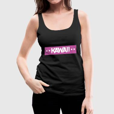 kawaii - Women's Premium Tank Top