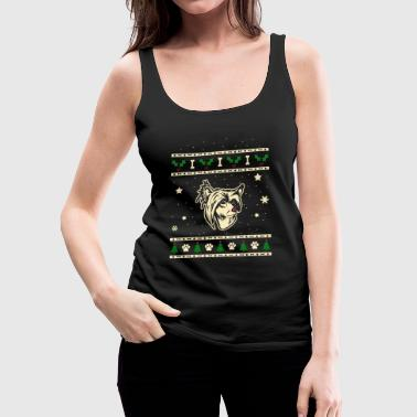 Chinese Crested Crested Dog Christmas Gift - Women's Premium Tank Top