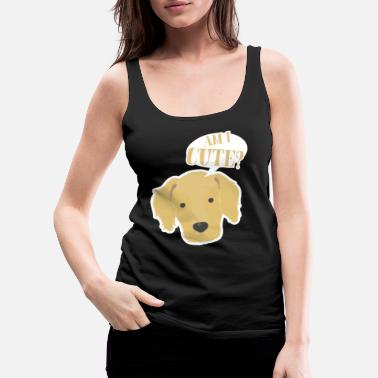 Golden Retriever Golden retriever - Women's Premium Tank Top